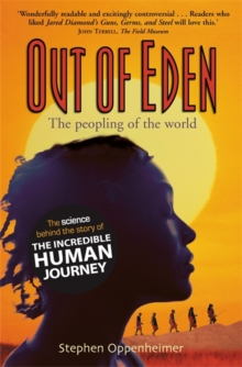 Out of Eden:  The Peopling of the World, Paperback Book