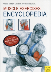 Muscle Exercises Encyclopedia, Paperback Book
