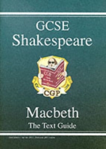 Grade 9-1 GCSE English Shakespeare Text Guide - Macbeth, Paperback Book
