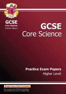 GCSE Core Science Practice Papers - Higher (A*-G Course), Paperback Book