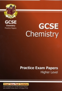 GCSE Chemistry Practice Exam Papers - Higher (A*-G Course), Paperback Book