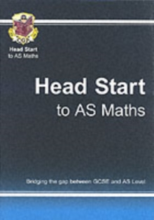 Head Start to AS Maths, Paperback Book