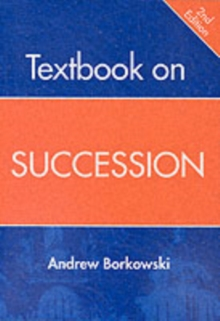 Textbook on Succession, Paperback Book