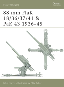 88 mm FlaK 18/36/37/41 and PaK 43 1936-45, Paperback Book