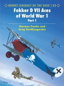 Fokker D VII Aces of World War I, Paperback Book