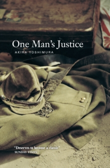 One Man's Justice, Paperback Book