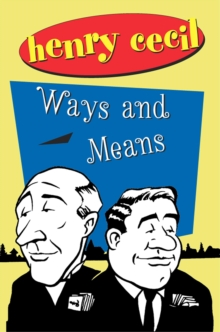 Ways And Means, Paperback / softback Book