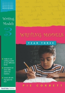 Writing Models Year 3, Paperback Book