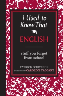 I Used to Know That : English, Hardback Book