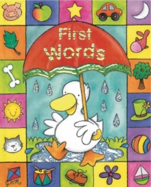 Sparkley Learning: First Words, Board book Book