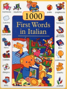 1000 First Words in Italian, Hardback Book