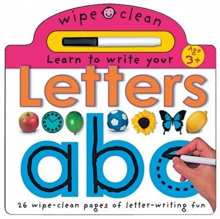 Learn to Write Your Letters, Hardback Book