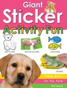 Giant Sticker Activity Book for Girls, Mixed media product Book