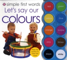 Let's Say Our Colours, Board book Book