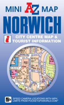 Norwich Mini Map, Sheet map, folded Book