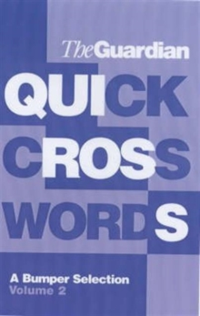 The Guardian Book of Quick Crosswords, Paperback Book