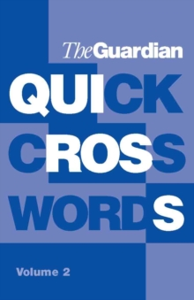 """Guardian"" Book of Quick Crosswords : v. 2, Paperback Book"