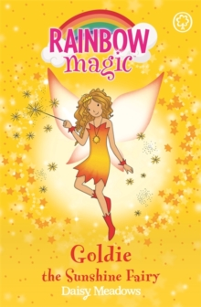 Rainbow Magic: Goldie The Sunshine Fairy : The Weather Fairies Book 4, Paperback Book