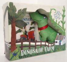 Dinosaur Farm Boxed Book and Toy Set, Mixed media product Book