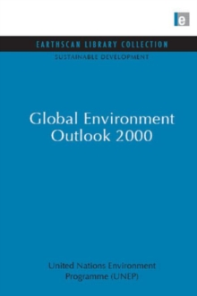 Global Environment Outlook 2000, Hardback Book