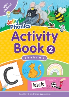 Jolly Phonics Activity Book 2 : in Precursive Letters (BE), Paperback Book