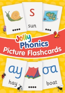 Jolly Phonics Picture Flash Cards : in Precursive Letters, Cards Book