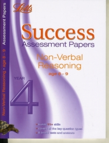 Non-Verbal Reasoning Age 8-9 : Assessment Papers, Paperback Book