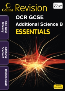 OCR Gateway Additional Science B : Revision Guide, Paperback Book