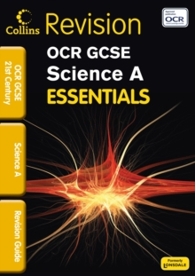 OCR 21st Century Science A : Revision Guide, Paperback Book