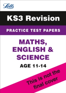 KS3 Maths, English and Science Practice Test Papers, Paperback Book