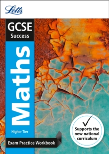 GCSE Maths Higher Exam Practice Workbook, with Practice Test Paper, Paperback Book