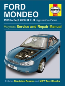 Ford Mondeo Service and Repair Manual : 1993 to Sept 2000 (K to X Reg), Hardback Book