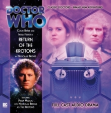 DR WHO RETURN OF THE KROTONS, CD-Audio Book