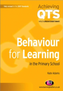 Behaviour for Learning in the Primary School, Paperback Book