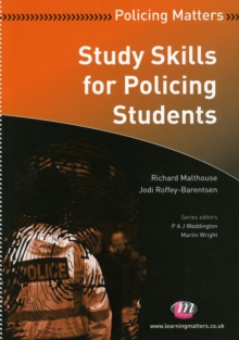 Study Skills for Policing Students, Paperback / softback Book
