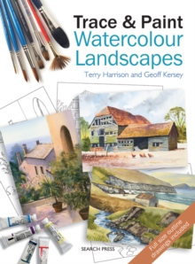 Trace & Paint Watercolour Landscapes, Paperback Book