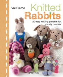 Knitted Rabbits, Hardback Book