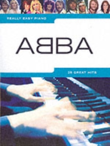 Really Easy Piano : Abba, Book Book