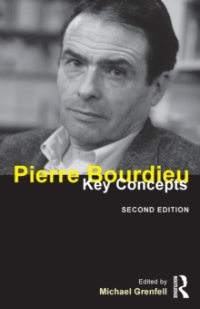 Pierre Bourdieu : Key Concepts, Paperback Book