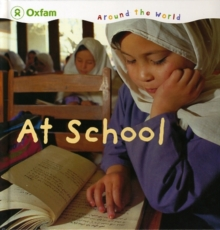At School, Hardback Book