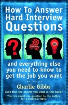 How to Answer Hard Interview Question 2nd Edition, Paperback Book