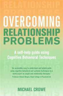 Overcoming Relationship Problems : A Books on Prescription Title, Paperback Book