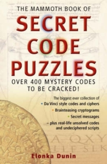The Mammoth Book of Secret Code Puzzles, Paperback Book