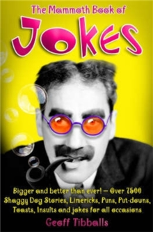 The Mammoth Book of Jokes New edn, Paperback Book