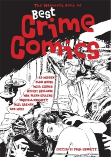 The Mammoth Book of Best Crime Comics, Paperback Book