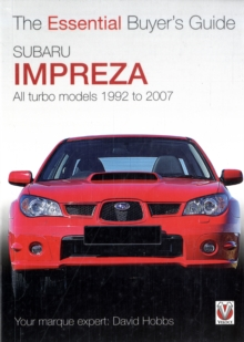 Subaru Impreza : All Turbo Models, 1994 to 2007, Paperback Book