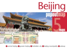 Beijing PopOut Map, Sheet map, folded Book
