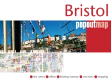 Bristol Popout Map, Sheet map, folded Book