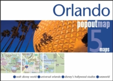 Orlando Popout Map : Handy Pocket Size Pop Up Map of Orlando and Walt Disney World Resort, Sheet map, folded Book