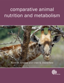 Comparative Animal Nutrition and Metaboli, Paperback Book